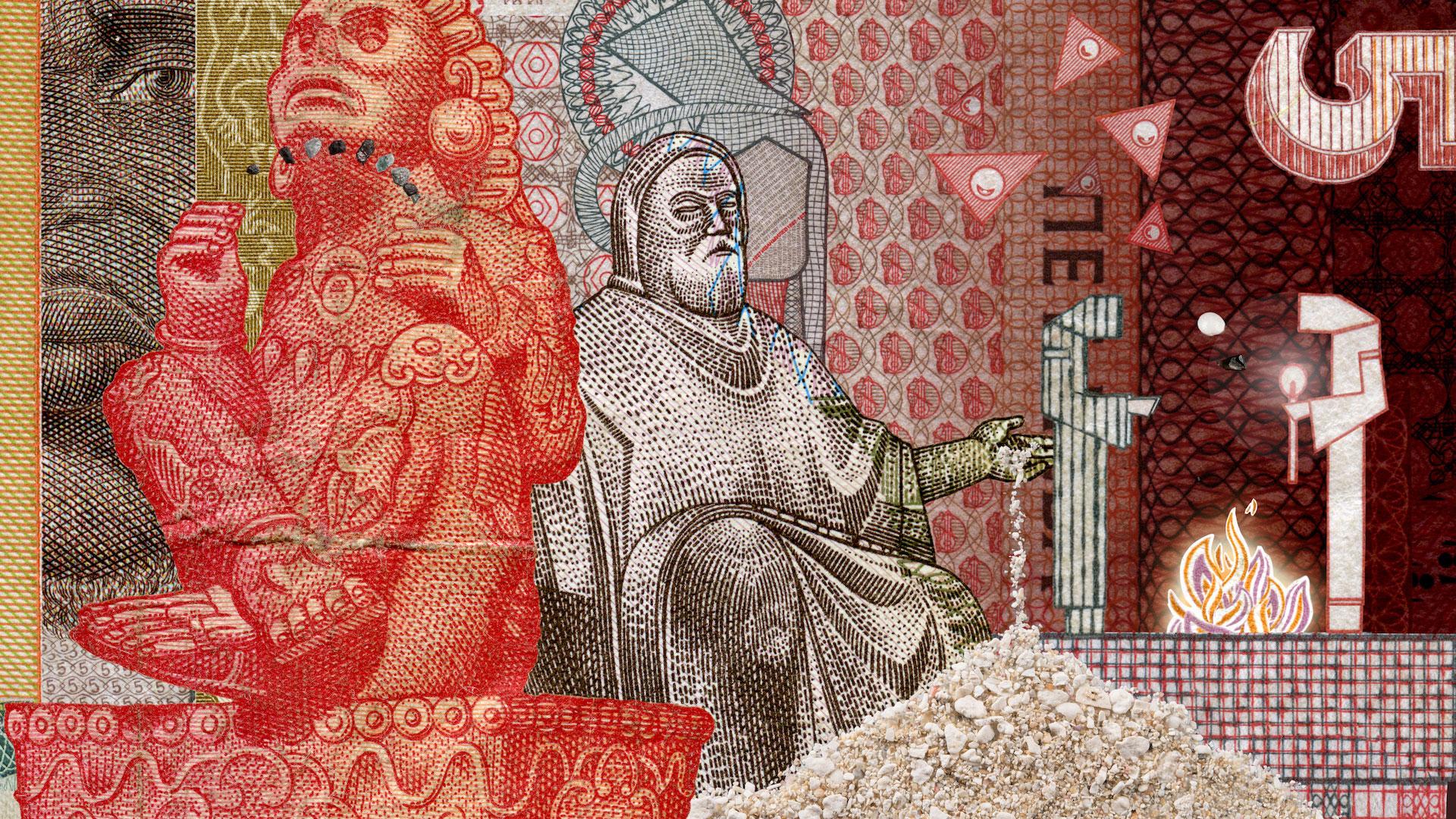 обмен денег мультфильм из денег