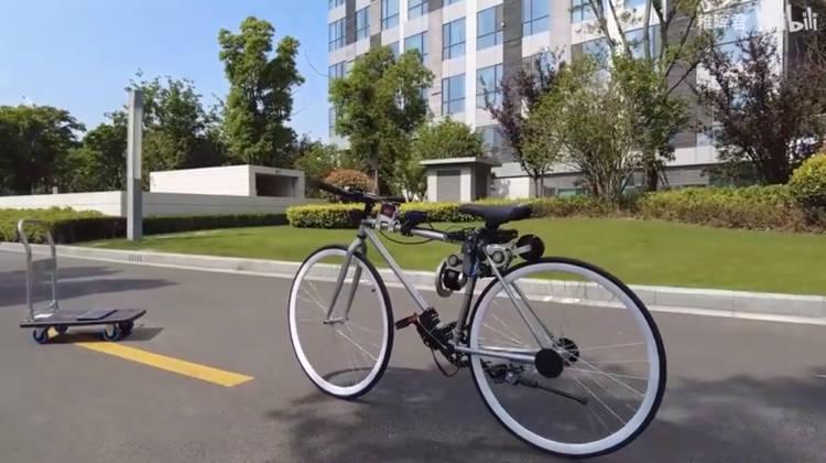 самобалансирующийся велосипед