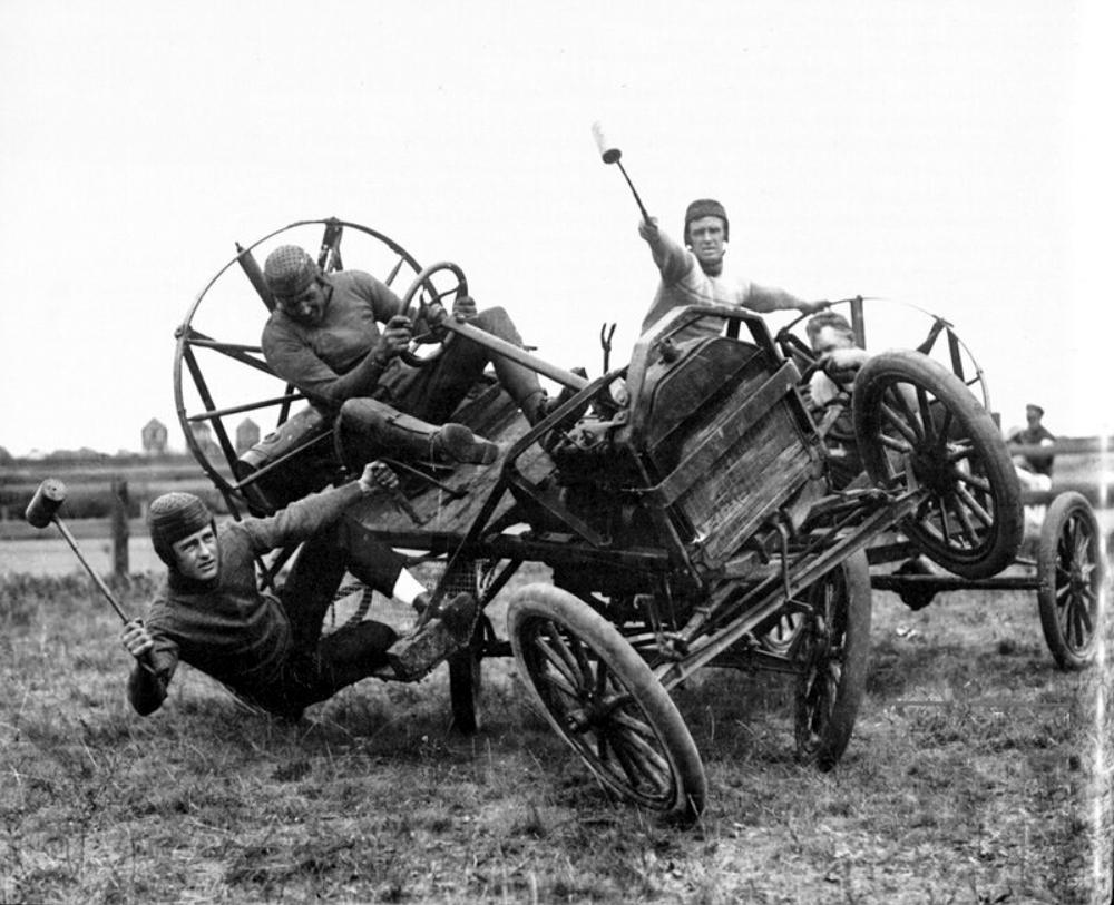 автополо автомобильное поло история