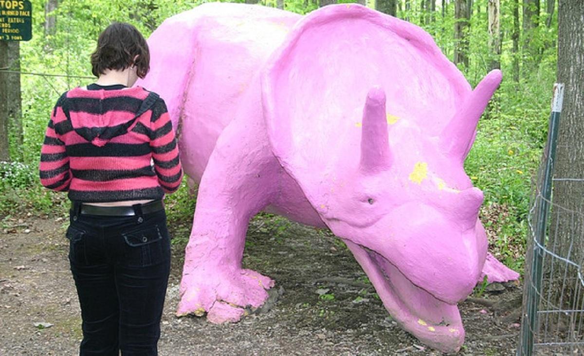 самые уродливые парки с динозаврами дичные динозавры