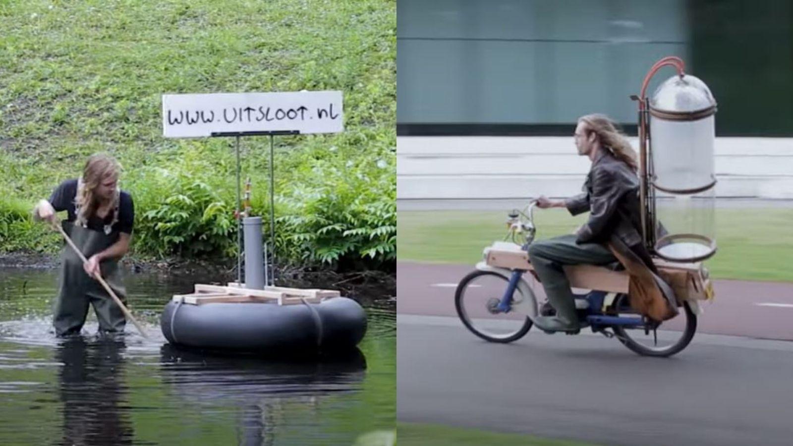газовый мотоцикл газ байк