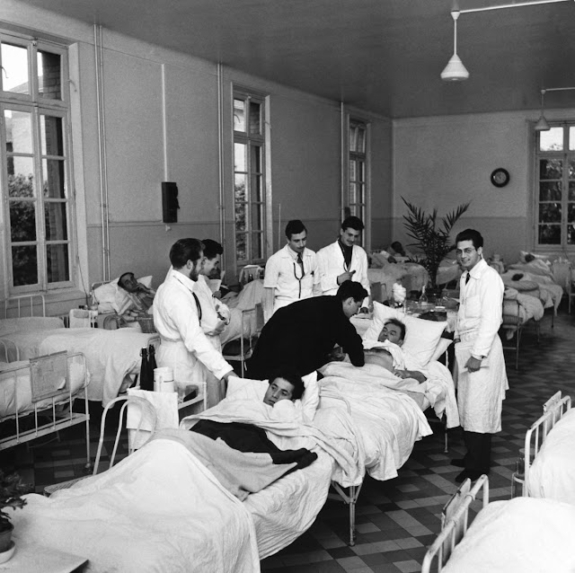 jean philippe charbonnier 6 - Фото: жизнь во французских психиатрических лечебницах 50-х годов