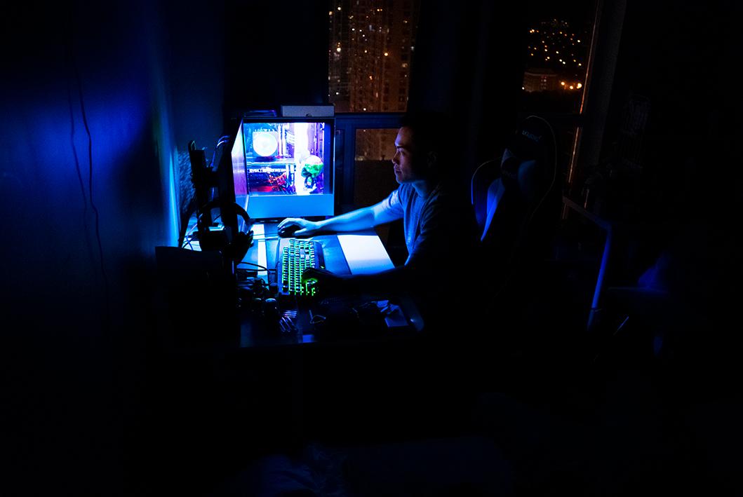 ночной гейминг