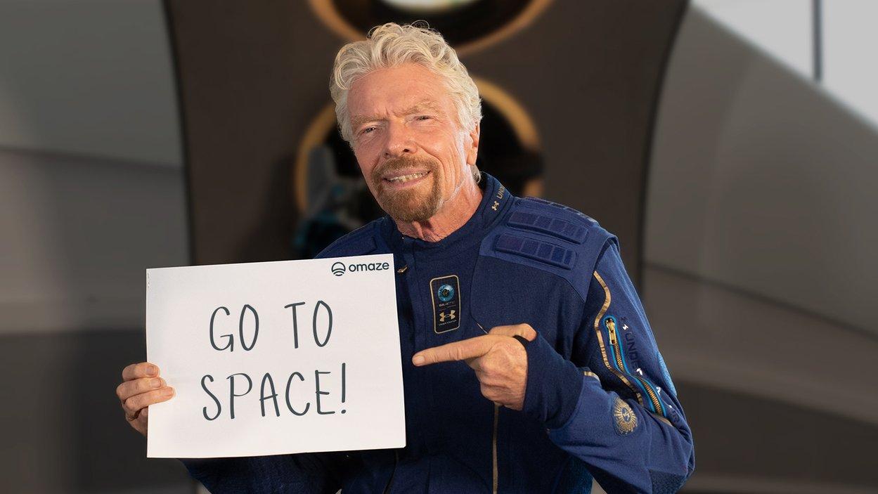 ричард брэнсон билеты в космос virgin galactic