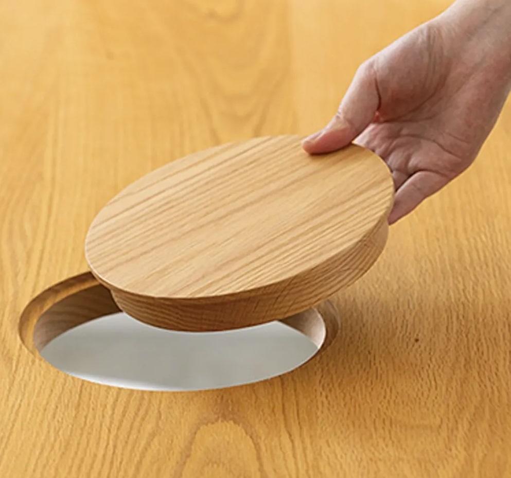 fifp 1 - В Японии выпустили стол с отверстием для кота — чтобы обедать вместе с питомцем