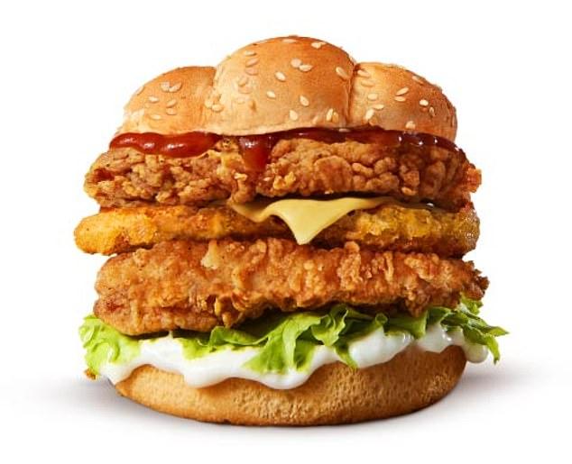 бургер KFC