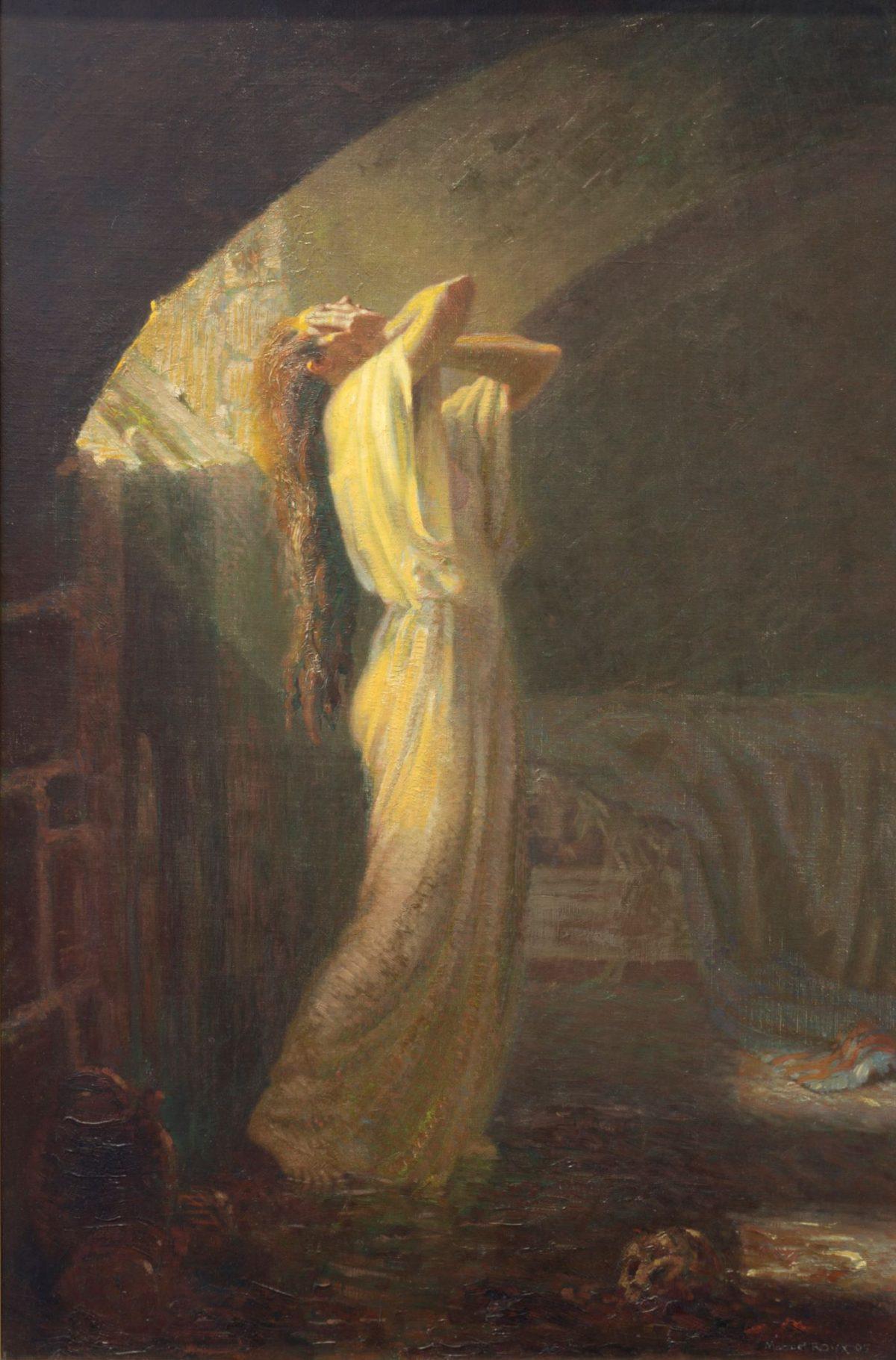 011 MARCEL ROUX 1200x1821 - Дьявольщина, достойная современных хорроров: картины Марселя Ру (1878-1922)