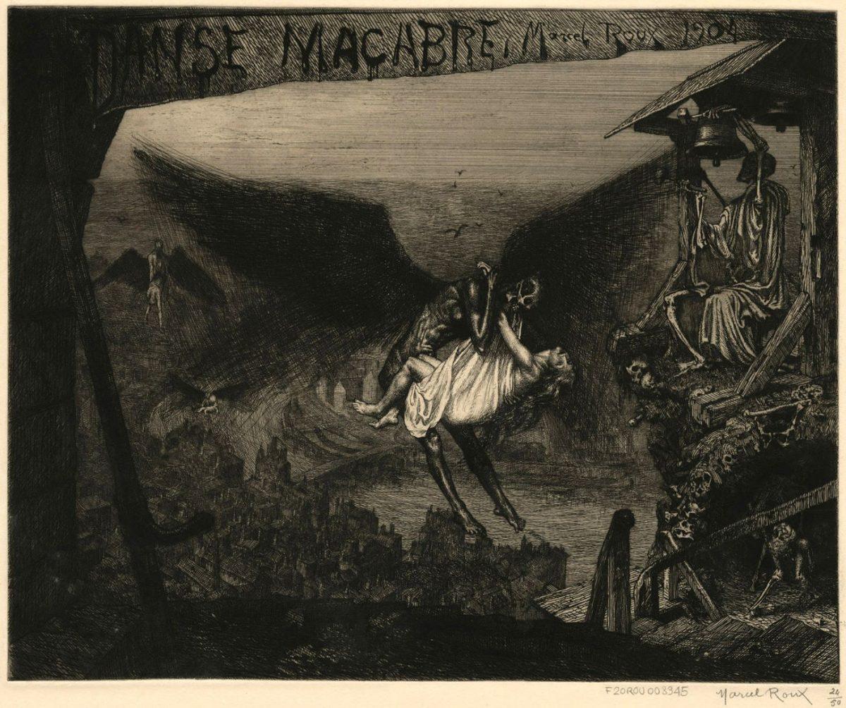 015 MARCEL ROUX 1200x1004 - Дьявольщина, достойная современных хорроров: картины Марселя Ру (1878-1922)
