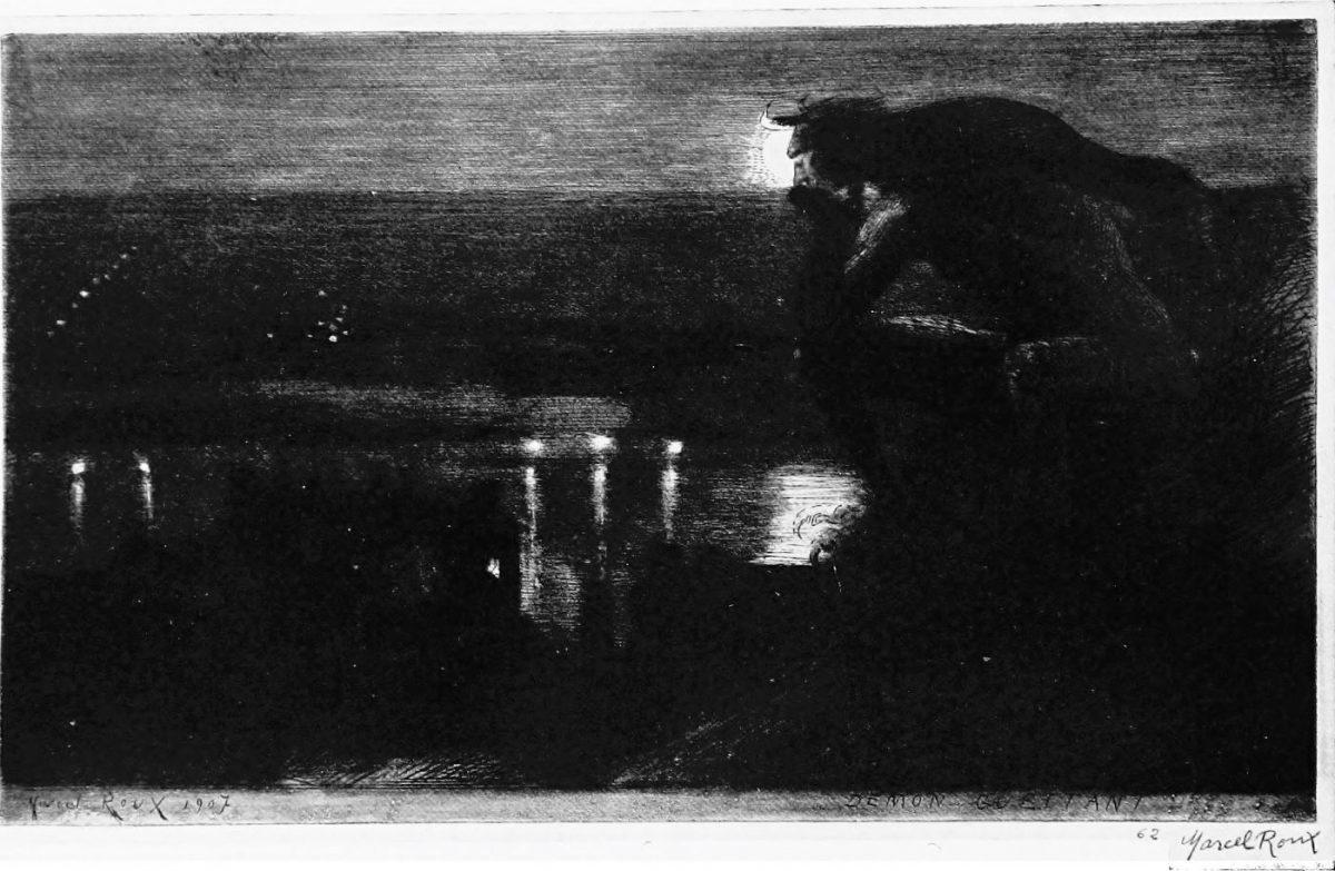 03 MARCEL ROUX 1200x783 - Дьявольщина, достойная современных хорроров: картины Марселя Ру (1878-1922)