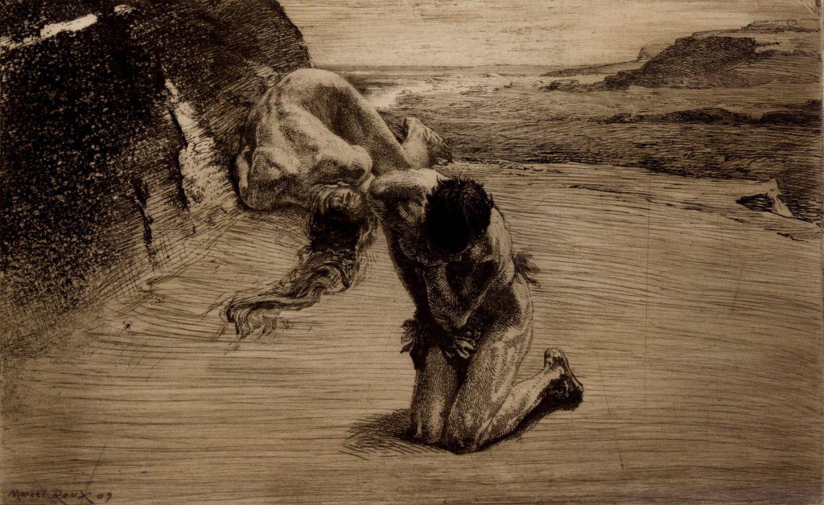 04 MARCEL ROUX 1200x736 - Дьявольщина, достойная современных хорроров: картины Марселя Ру (1878-1922)