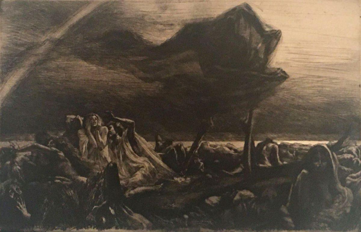 08 MARCEL ROUX 1200x771 - Дьявольщина, достойная современных хорроров: картины Марселя Ру (1878-1922)