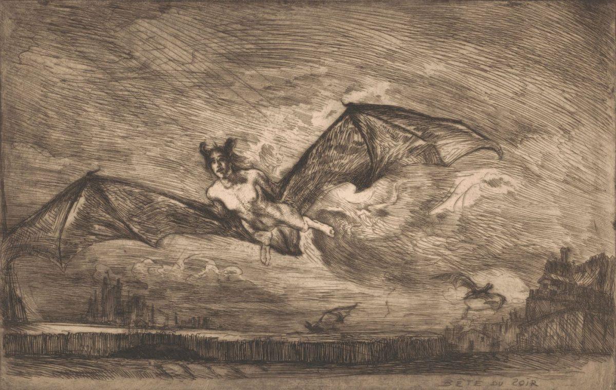 09 MARCEL ROUX 1200x760 - Дьявольщина, достойная современных хорроров: картины Марселя Ру (1878-1922)