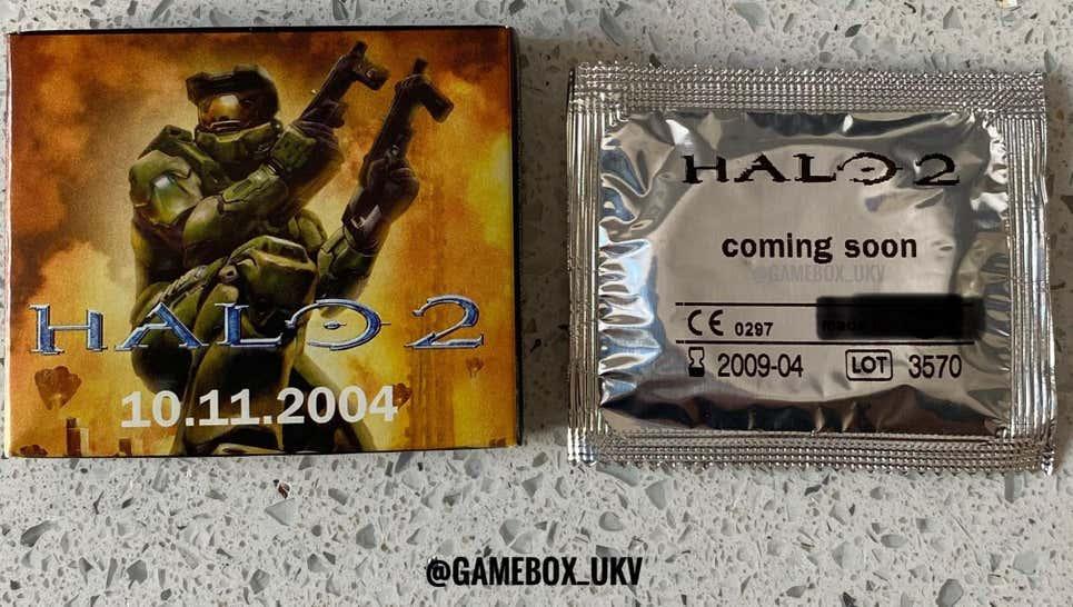 презерватив HALO 2