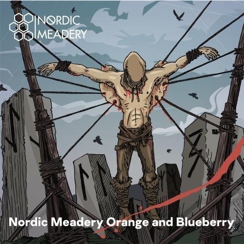 Nordic Meadery orange blueberry