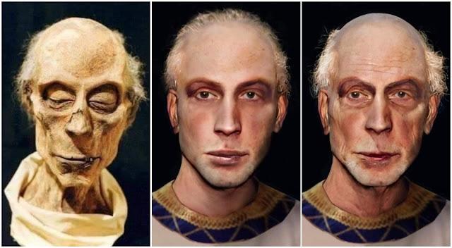 рамзес ii мумия лицо