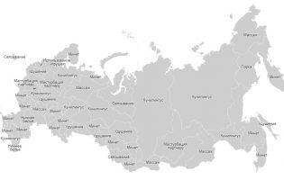 Находка дня: карта сексуальных предпочтений регионов России