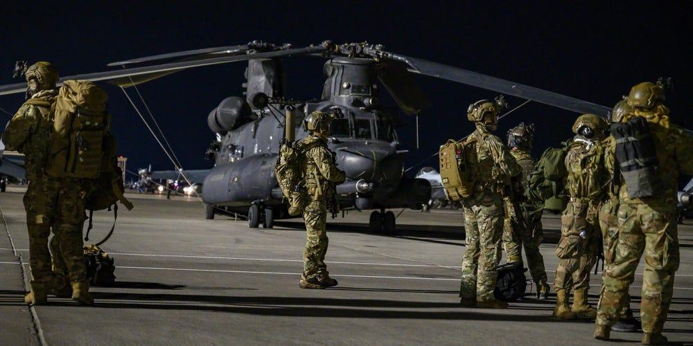 ниндзя напал на американских военных