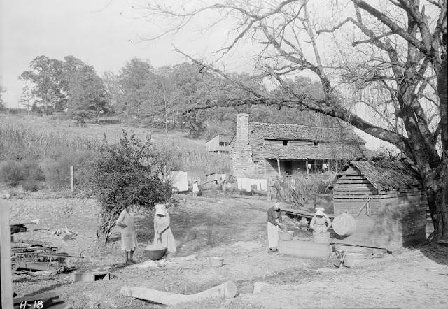 Трудная жизнь в Теннесcи 1930-х: атмосферные фото времен Великой депрессии
